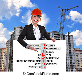 kruiswoordraadsel, bouwsector