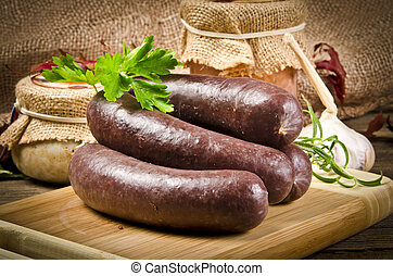 Krupniok really Polish blood sausage