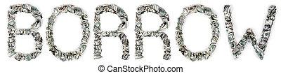 krusat, -, låna, lagförslaget, 100$
