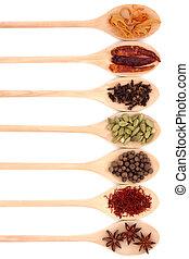 krydda, kollektion