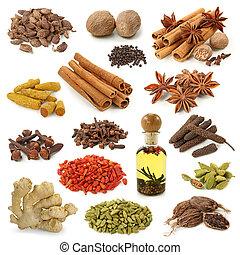 krydderi, samling