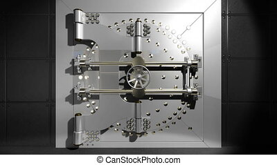 krypta, drzwiowe odemknięcie