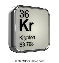 krypton, 3d, élément