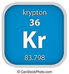 krypton, material, sinal