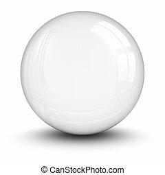 kryształ, obrzynek ścieżka, ball., included.