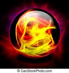 kryształowa piłka