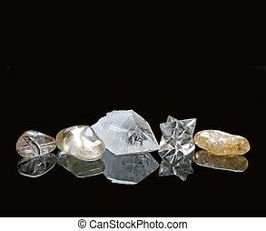 kryształy, gojenie