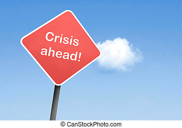 kryzys, na przodzie