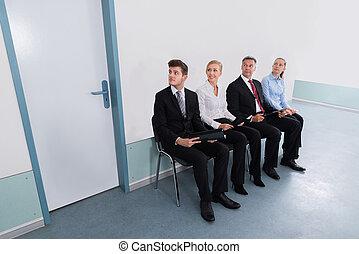 krzesło, wnioskodawcy, biuro, posiedzenie