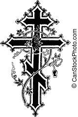 krzyż, ilustracja