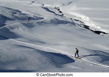 krzyż wersalski sport narciarski