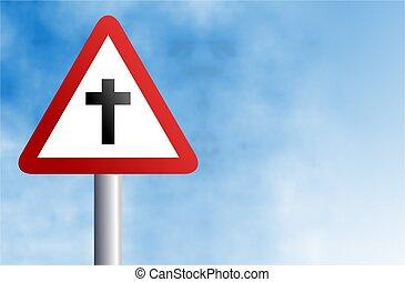 krzyż, znak