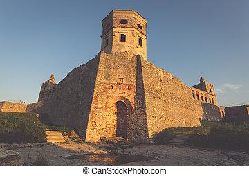 Krzyztopor castle near Opatow, Poland