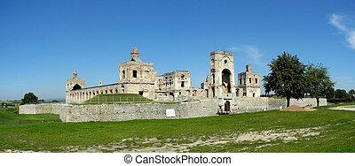 Krzyztopor castle - Ruins of Krzyztopor Castle in Ujazd,...