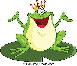 książę, żaba