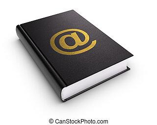 książka, adres