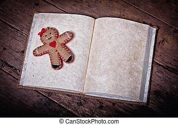 książka, boże narodzenie