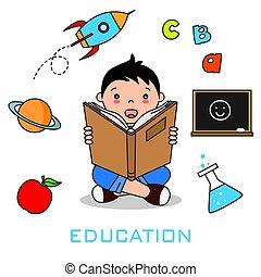książka, czytanie, dzieci