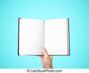 książka, dzierżawa ręka