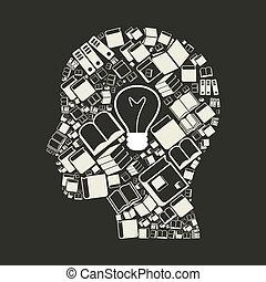 książka, head2