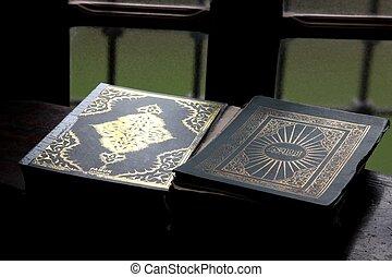 książka, koran, święty