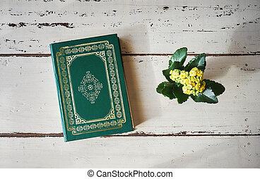 książka, muslims, koran, święty