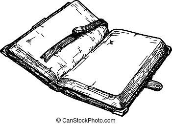 książka, stary