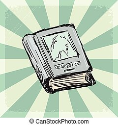 książka, tło