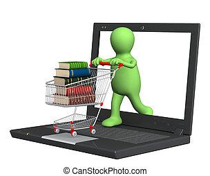 książki, online