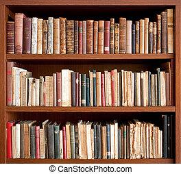książki, stary