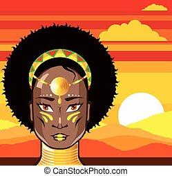 księżna, afrykanin