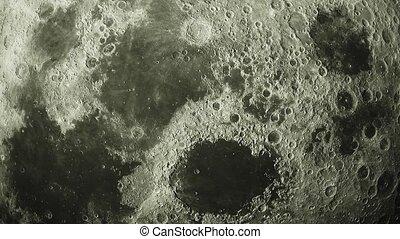 księżyc, tło, wizerunek, orbity, elementy, astronomiczny,...