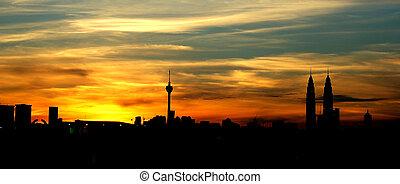 Kuala Lumpur City - skyline of Kuala Lumpur