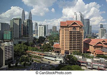 Kuala Lumpur Daytime Cityscape