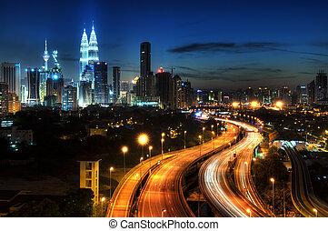 Kuala Lumpur. - Kuala Lumpur is the capital city of Malaysia...