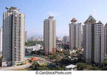 Kuala Lumpur - Mont Kiara - Expensive neighborhood - Mont...