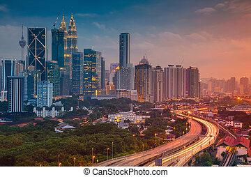 Kuala Lumpur. - Cityscape image of Kuala Lumpur, Malaysia...