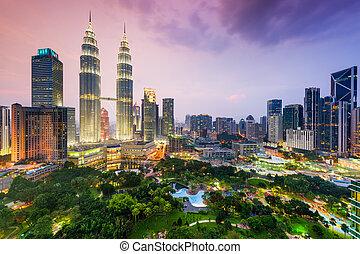 Kuala Lumpur Skyline - Kuala Lumpur, Malaysia city skyline.