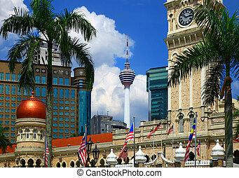 Kuala Lumpur - View of the Kuala Lumpur.