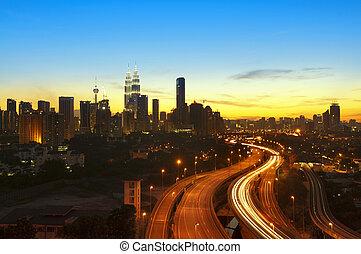 Kuala Lumpur Twilight - Kuala Lumpur is the capital city of...