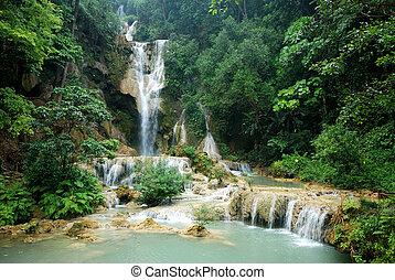kuang, si, vattenfall