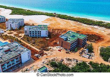 kubai, északi, kulcsok, szerkesztés, alatt, szálloda