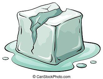 kubus, ijs