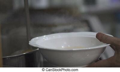 kuchmistrz, siła robocza, zsyp, zupa, do, przedimek określony przed rzeczownikami, puchar