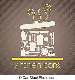 kuchnia, ikony