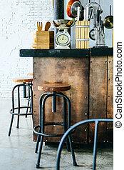 kuchnia, strych, projektować