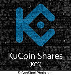 KuCoin Shares cryptocurrency background