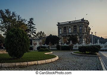 Kucuksu Pavilion in Bosporus, Istanbul