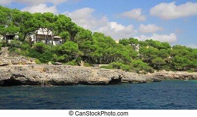 kueste,  Mallorca, felsig