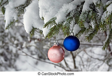 kugel, baum, weihnachten